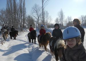 cours d'équitation pour enfants