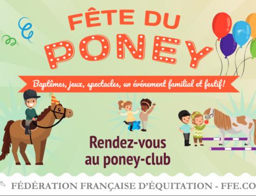 Fête du poney du 28 mai au 3 juin 2018