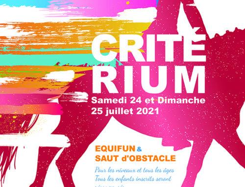 Critérium 24 et 25 juillet 2021