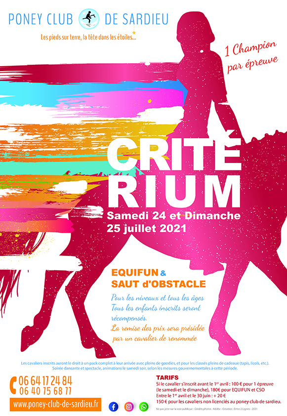 Criterium Poney club sardieu